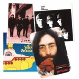 The Beatles Sticker Pakket 1 (4 stuks)_
