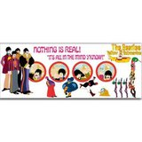 The Beatles mok 'Yellow Submarine Nothing Is Real'_