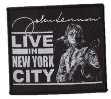 John Lennon patch 'Live in New York City'