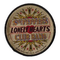 The Beatles patch 'Sgt Pepper drum'