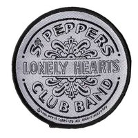 The Beatles patch 'Sgt Pepper drum' (b/w)