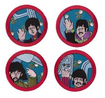 The Beatles patch 'Yellow Submarine - set van 4'