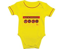 The Beatles baby romper 'Yellow Submarine'