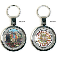 The Beatles roterende sleutelhanger - Sgt Pepper and drum