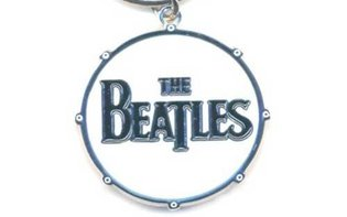 The Beatles sleutelhanger - Drop T Logo drum