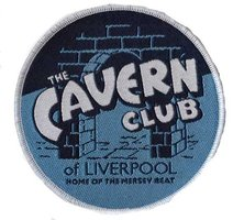 The Cavern Club patch 'Home of the Mersey Beat'