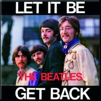 The Beatles magneet 'Let it be / Get back'