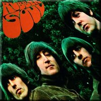 The Beatles magneet 'Rubber Soul'