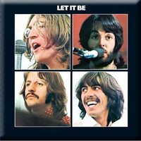 The Beatles magneet 'Let it be'