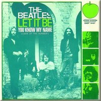 The Beatles magneet  'Let it be / You know my name'