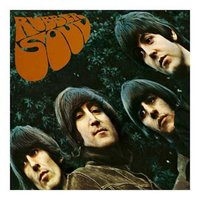 The Beatles wenskaart 'Rubber Soul'