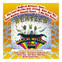 The Beatles wenskaart 'Magical Mystery Tour'