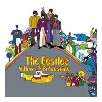 The Beatles wenskaart 'Yellow Submarine'