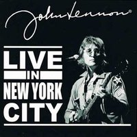 John Lennon wenskaart 'Live in New York City'