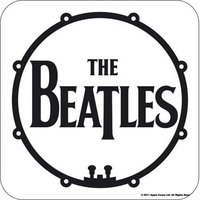 The Beatles onderzetter 'Drum Logo'
