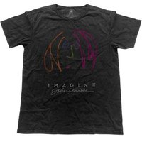 John Lennon T-Shirt 'Imagine' (vintage black)