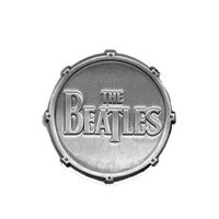 The Beatles pin 'Drop T Logo drum'