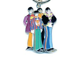 The Beatles sleutelhanger 'Yellow Submarine band'