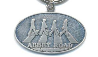 The Beatles sleutelhanger 'Abbey Road Crossing'