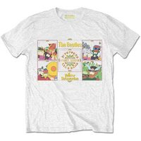 The Beatles T-Shirt 'Yellow Submarine Sgt Pepper band'