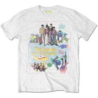 The Beatles T-Shirt 'Yellow Submarine Vintage Movie Poster'