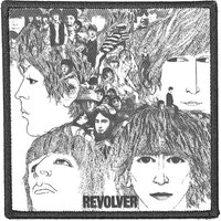 The Beatles opstrijk patch Revolver