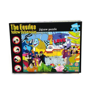 The Beatles puzzel 'Yellow Submarine'