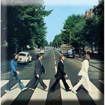 The Beatles magneet 'Abbey Road