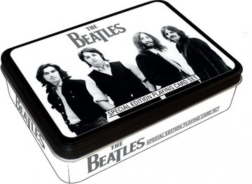 The Beatles speelkaarten in cadeau blik 'Iconic'