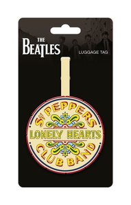 The Beatles bagage label - Sgt Pepper