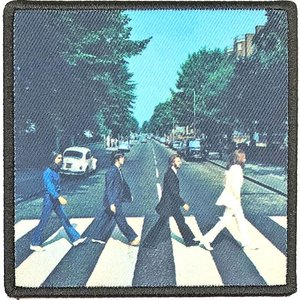 The Beatles opstrijk patch - Abbey Road