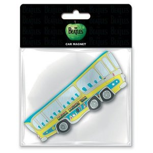 The Beatles magneet - Magical Mystery Tour Bus