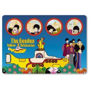 The Beatles muismat 'Yellow Submarine'