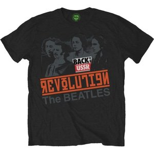 The Beatles T-Shirt - Revolution / Back In The USSR