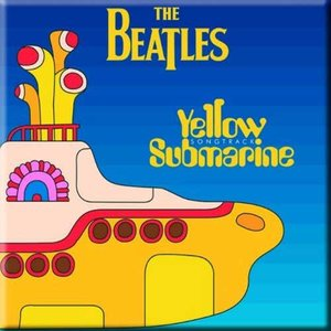 The Beatles magneet 'Yellow Submarine - songtrack'