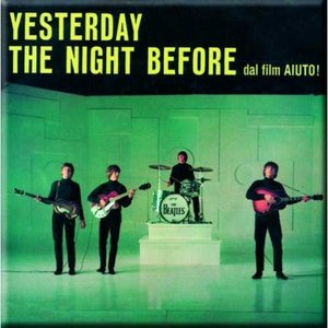 The Beatles magneet 'Yesterday'