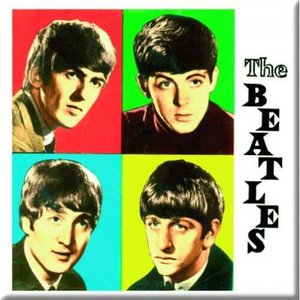 The Beatles magneet 'Coloured Boxes'