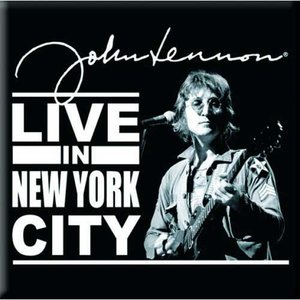 John Lennon magneet 'Live in New York City'