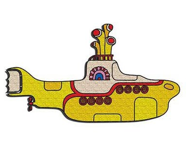 The Beatles patch 'Yellow Submarine'