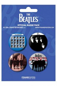 The Beatles buttons - bauw