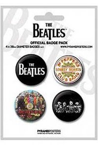 The Beatles buttons 'Sgt Pepper'