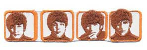The Beatles patch 'Heads in boxes'
