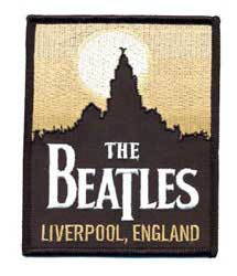 The Beatles patch 'Liverpool, England'