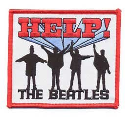 The Beatles patch 'HELP!'