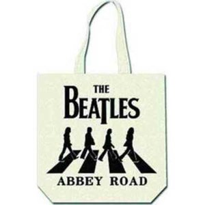 The Beatles tas met ritssluiting 'Abbey Road - wit'