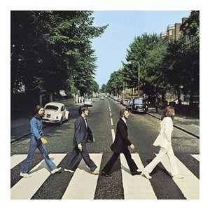 The Beatles wenskaart Abbey Road