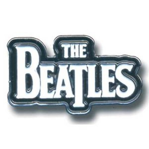 The Beatles pin 'wit logo'