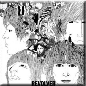 The Beatles magneet 'Revolver'