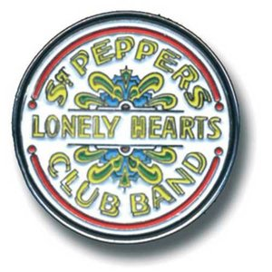 The Beatles pin 'Sgt. Pepper Drum'