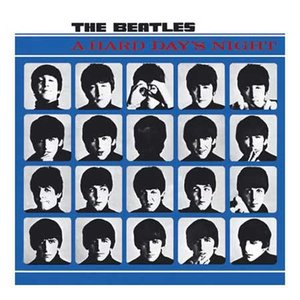 The Beatles wenskaart  'A Hard Days Night'